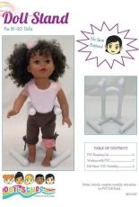 """Sunrise Designs-Doll Stand for 18"""".+20""""inch Doll-Free"""