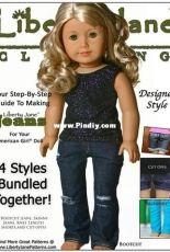 "Liberty Jane Clothing - Jeans Bundle for 18"" Dolls"