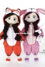 Venelopa Toys - Svetlana Udalchikova - Amigurumi Doll in Kigurumi Сostume