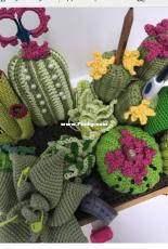 DMC - Crochet Cactus Caddy - Free.