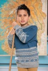 Dale Gull 348-06 Hans stripestjerne genser by Anne-Kirsti Espenes – Norwegian – free