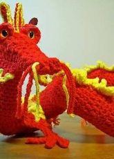 Nhewyts Designs - Gail Hovanec - Oriental Dragon Crochet Pattern - Free