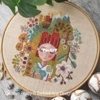 Creative Poppy - Barbara Ana Designs - Garden of Dreams Mystery Chart Part 3