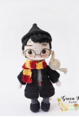 Green Frog Crochet - Thuy Anh - Đặng Thùy Anh - Harry Potter