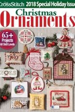 Just Cross Stitch JCS Christmas Ornaments 2018 Special Holiday Issue