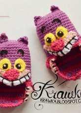 Kamila Krawka Krawczyk-Cheshire Cat  Baby Booties -English-Free