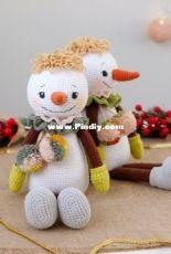 Marina Chuchkalova - Willy the snowman - Russian
