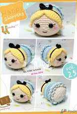 Crochet Activity ~ Tsum Tsum Alice in the Wonderland