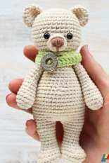 Amigurumi Today - Unknown Designer - Cuddle Me Bear Amigurumi pattern- Free