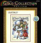 DIMENSIONS 08744  VINTAGE MERRY CHRISTMAS