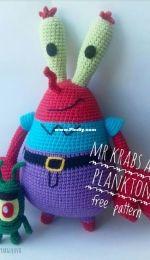 Yuliya Suyargulova - Mr Krabs and Plankton - Don Cangrejo y Plancton - Spanish - Translated - Free