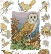 Anchor APC-903 Owl and Woodland Wildlife