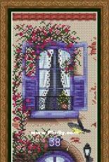 Violet Balcony by Alena Koshkina