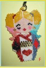 Harley Quinn Brick Stitch