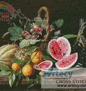 Artecy Cross Stitch - Still Life with Fruit