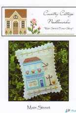 Country Cottage Needleworks CCN - Main Street Part 1 - Flower Shop