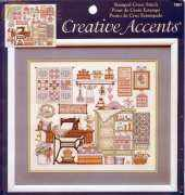Dimensions Creative Accents 7967 Sewing Room