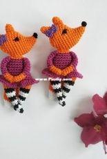 Crochet Pattern By Lily - Lilia Sharipova - Foxy brooch - English