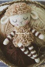 Sweet Patterns Lab -  Chudotsatsa - Diana Patskun - Sheep Rattle - Russian - Free