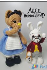 Crochet MK RHO Pattern - Alice in wonderland