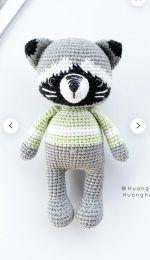 Huong Hoang Designer - Little Raccoon