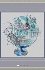 MiAxStitch - The Globe by Minasyan Yana