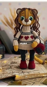 Sovushkin Mir Toys - Elena Ashlapova - Tessa the Tigress