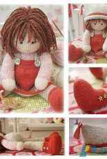 Mary Jane's Tearoom-Chrystal-A Tearoom Doll in the round by Susan Hickson