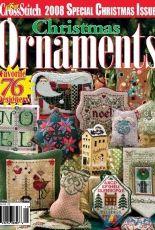 Just Cross Stitch JCS Christmas Ornaments 2008