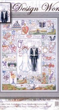 Design Works 2734 - Wedding ABC