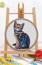 Awesome Pattern Studio C521 - Mandala Cat
