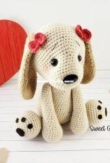 Sweet Oddity Art - Carolyne Brodie - Lola the Love Puppy - English