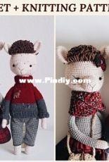 Sweet Patterns Lab - Diana Patskun - Alpacas David and Grace
