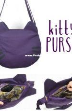 Kitty Purse by Choly Knight - Sew Desu Ne? - Free