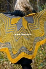 Starflake: Westknits Mystery Shawl KAL 2019 by Stephen West