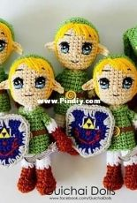 Guichai Crochet Dolls - Armano Ginji - Link - English