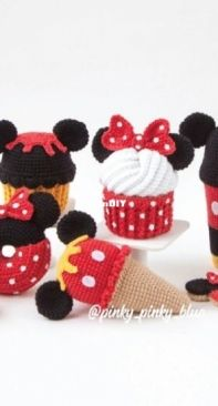 Pinky Pinky Blue - Nadejda Khegay -  Mickey and Minnie Mouse - Russian