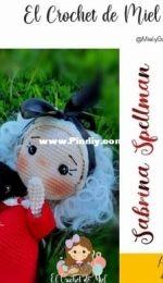 El Crochet de Miel - Miel y Galletas - Sabrina Spellman y Salem - Spanish