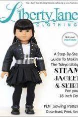 "Liberty Jane Clothing - Steam Jacket & Skirt Bundle for 18"" Dolls"