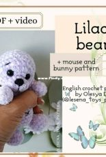 LesenaPatternToys - lesena_toys_pattern - TEDDY BEAR PATTERN - English or Russian