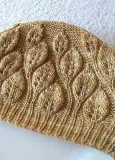 Camellia Leaf Hat by Yoko Johnston