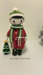 Ani handmade house VN - Khac Huong - Lucky the Christmas Elf