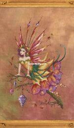 Bella Filipina Cross Stitch Design - Autumn Equinox Pixie