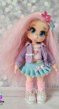 Ecem Design - Elena Akkoca - Knitt Life - Vitamin Dolls Outfit
