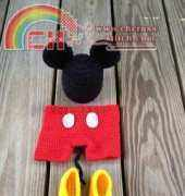 Mouse Outfit by Bizee B Boutique