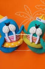 Natura Crochet - Natasha Tishchenko -  Triton the walrus