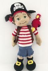 Hollys Hobbies - Holly McNevan - Fidget the Pirate