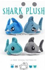 Choly Knight - Sew Desu Ne? -Shark Plush - Free