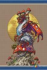 Mushroom Dragon by Nadezhda Kazarina / Nadi