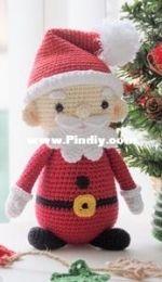 RNata - Natalia Ruzanova - Santa Claus Christmas toy